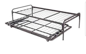 Trundle bed frame. Twin size. 2 piece for Sale in Anaheim, CA