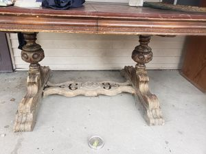 Antique dining table for Sale in West Terre Haute, IN