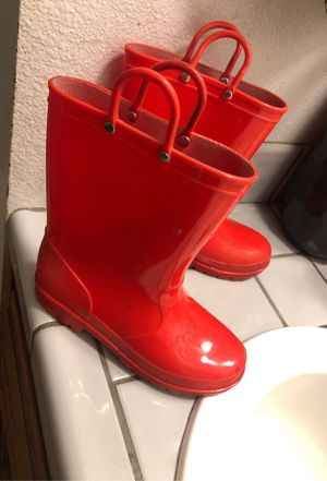 Rain boots for kids size3 for Sale in Selma, CA