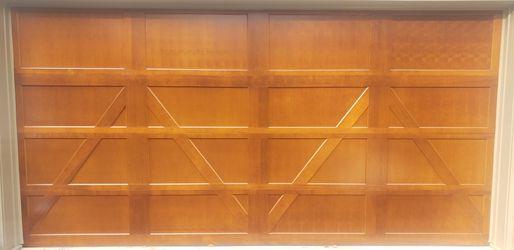 Copay Custom Wood Series Garage Door for Sale in Mount Rainier,  MD