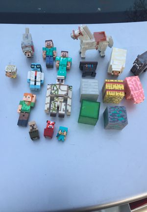 19 Minecraft Figures for Sale in Ashley, OH