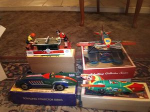 Brand New in box #4 Tin Wind up toys for Sale in Modesto, CA