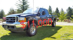 2001 Ford F250 Lariat 4X4 Super Duty Long Bed for Sale in Hillsboro, OR
