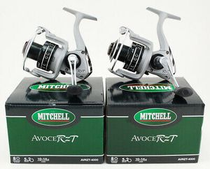 2 Mitchelle Avocet RZT AVRZT-4000 fishing reel 8 ball bearings 5.2:1 new in box spinning fishing reel for Sale in Litchfield Park, AZ