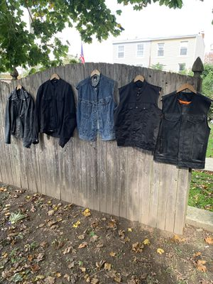 Motorcycle Vest and Jacket for Sale in King of Prussia, PA