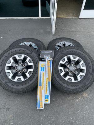 2020 Tacoma TRD Wheels Rims Tires Rines yantas llantas for Sale in Los Angeles, CA