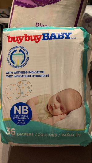 Newborn diapers for Sale in Chandler, AZ