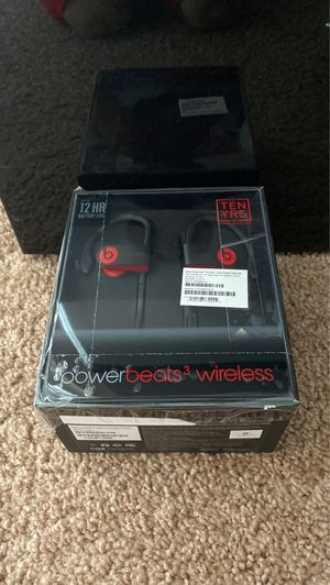 Power beats 3 Series. Used once no damage and everything included in the box. I satanized all ear pieces. Great buy. 👌👌 for Sale in Northville, MI