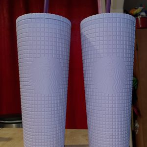 Lavender Grid Starbucks 24oz Cup - Brand New for Sale in Stockton, CA
