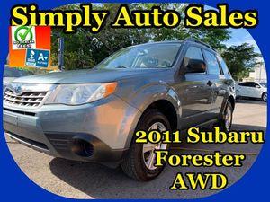 2011 Subaru Forester for Sale in Palm Beach Gardens, FL