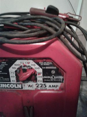 lincoln stick welder for Sale in Port Orchard, WA