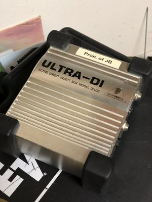 Behringer Ultra DI direct inject for Sale in Tampa, FL