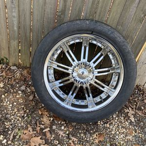 22 Inch Chrome Rims for Sale in Waxhaw, NC