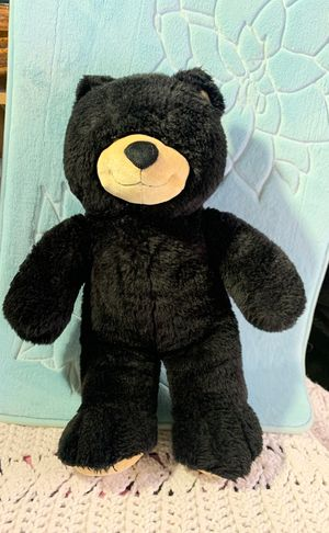 Black bear stuffed animal for Sale in Moreno Valley, CA