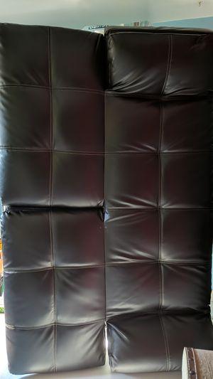 Faux leather futon for Sale in Edmonds, WA