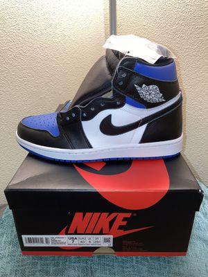 Jordan 1 royal toe size 7 Men's dead stock for Sale in Puyallup, WA