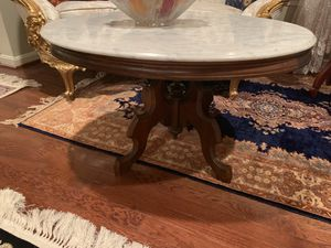Three marble top table for 350 for Sale in Alexandria, VA