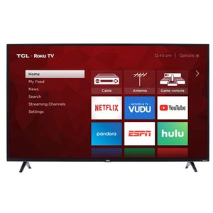 """TCL 55"""" Class 4K Ultra HD (2160P) HDR Roku Smart LED TV for Sale in Morgantown, WV"""