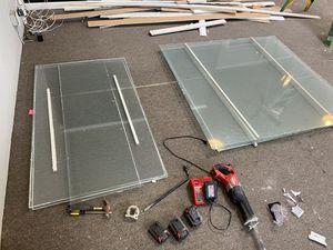 Glass panels for Sale in Santa Cruz, CA