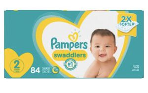 Size 2 pampers for Sale in Lynwood, CA