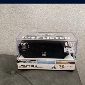 Jacket H20 4 Portable Bluetooth Speaker - WaterProof, SnowProof, DirtProof, 10hr Rechargeable Battery, Wireless Pairing, 100ft Bluetooth Range for Sale in Mesa, AZ