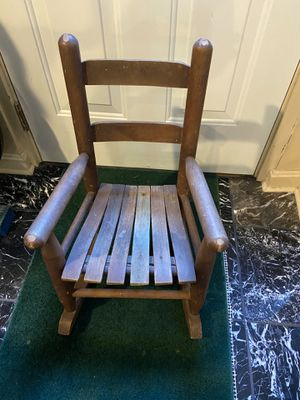Vintage Child's Rocking Chairs for Sale in Alexandria, VA