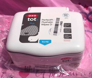 👶🏻 Oxo Tot Flushable Wipes Container for Sale in Mesick, MI