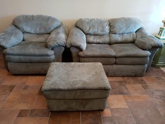 Loveseat chair ottoman for Sale in St. Peters,  MO