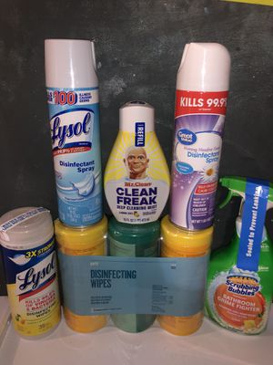 Lysol & more package for Sale in The Bronx, NY