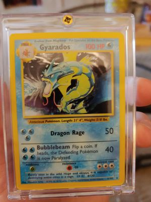 Pokemon Card Gyrados Holo Perfect Condition for Sale in Altamonte Springs, FL
