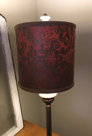 decorative lamp with shade for Sale in Pittsburgh, PA
