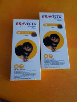 Bravecto Plus Canine 4.4-9.9 Pounds Topical Flea/Tick Medication for Sale in Philadelphia,  PA