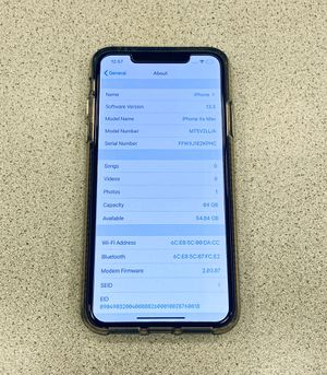 AT&T IPhone XS Max for Sale in Waialua, HI