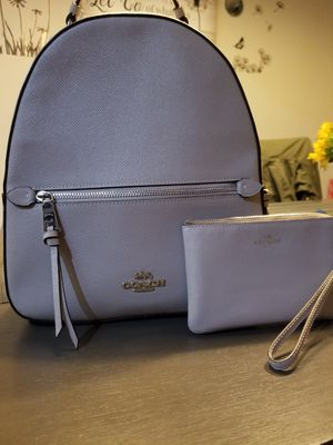 Coach bag with matching zipper coin purse for Sale in Austin, TX