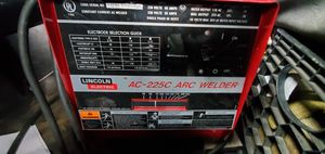 Lincoln electric ac 225 arc welder for Sale in North Andover, MA