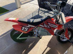 Electric dirt bike for Sale in Gilbert, AZ