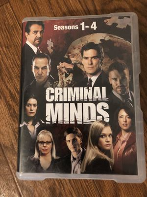 Criminal Minds Seasons 1-4 for Sale in Everett, WA