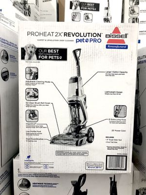 Bissell Proheat 2X Revolution Pet Pro Carpet Cleaner vacuum for Sale in Palm Beach Shores, FL
