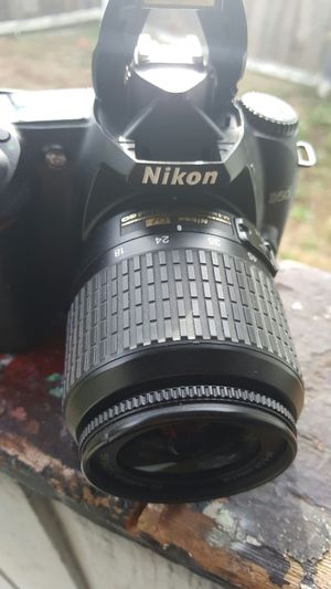 Nikon d50 camera with lense for Sale in Milwaukie, OR