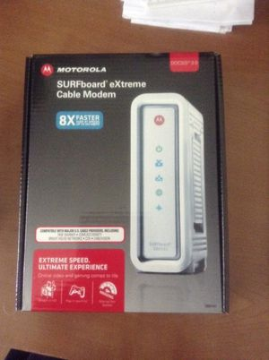 Motorola Surfboard Extreme Modem for Sale in Niles, IL