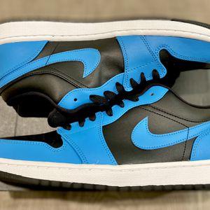 Jordan 1 Low Hyper Blue Size 8.5 , 10.5 , 11 , 12 Men for Sale in Anaheim, CA