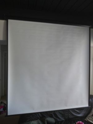 Quartet Wall and Ceiling Projection Screen, 70x 70 Inches for Sale in Beltsville, MD