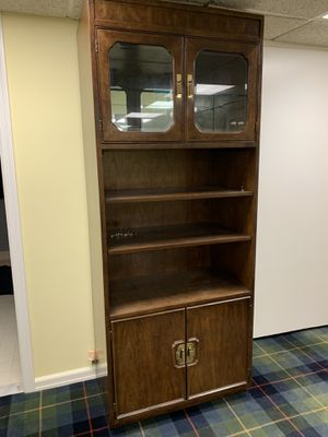 Beautiful Solid Wood 6' Tall Cabinet for Sale in Park Ridge, NJ