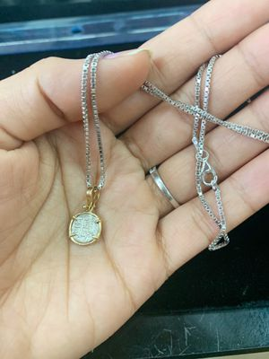 Atocha Coin In Gold Bezel Necklace for Sale in Barnegat Township, NJ