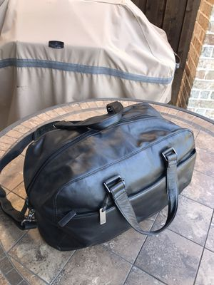 CK real/ genuine leather duffel bag . Make an offer! for Sale in Mesquite, TX