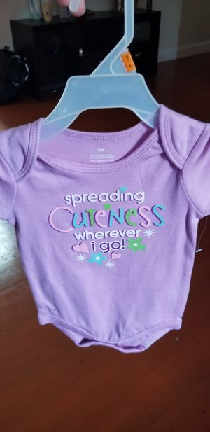 12m onesie new without tag for Sale in Manassas, VA