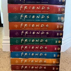 Friends Complete DVD Set S1-10 + Bonus for Sale in West Hollywood, CA