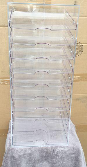 10 slot paper desk organizer for Sale in Herndon, VA