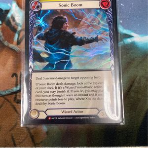 Flesh And Blood Tcg Sonic Boom Foil for Sale in Bell Gardens, CA