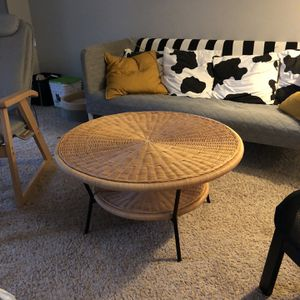 Rattan coffee table and side table for Sale in Doraville, GA